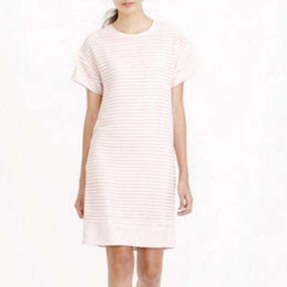 1adc957b J. Crew Dresses & Skirts - J. Crew Pleated chiffon T-shirt dress
